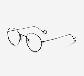 复古眼镜框精选金属眼睛框镜架个