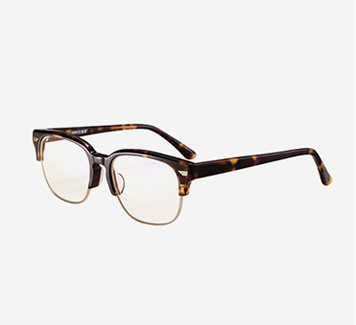 新款电脑护目镜半框平光眼镜蓝光防辐射