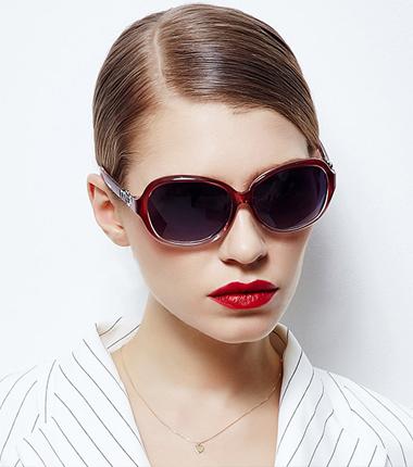 偏光太阳镜女时尚潮流明星太阳眼镜