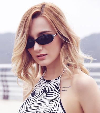 夏季太阳镜女款开车驾驶墨镜炫彩太阳眼镜女个性